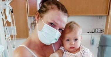 Image: Må forsvare datterens (1) amputasjon