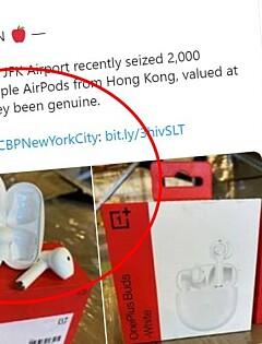 Image: Trodde de beslagla Apple-kopier