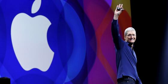 Image: Raser etter Apple-lansering