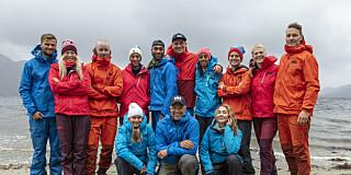 Image: Dette er årets deltakere i «71 grader nord»