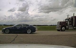 Image: Sovende sjåfør tatt i 150 km/t