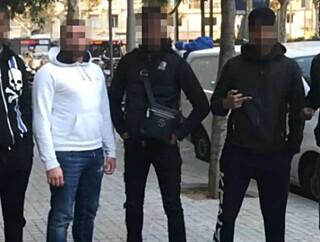Image: Fire kamerater bak svensk dødspakt