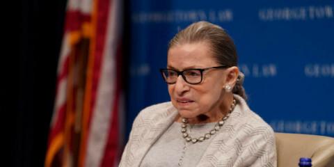 Image: Ruth Bader Ginsburg er død