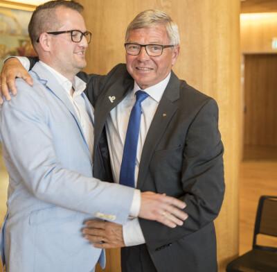 Image: Bondeviks sønn ut mot KrF og Ropstad