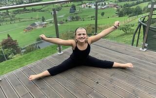 Image: Astrid (10) har en sykdom som nesten bare rammer voksne