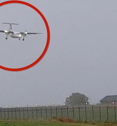 Image: Måtte avbryte landingen