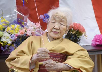 Image: Har blitt tidenes eldste i Japan
