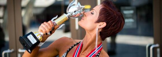 Image: Anette gikk fra utrent 40-åring til pallplassering i fitness