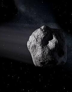 Image: Asteroide nærmer seg jorda