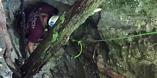 Image: Reddet fra ni meter dypt hull