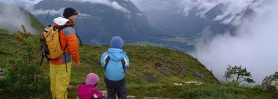 Image: 10 spektakulære fjellturer for hele familien