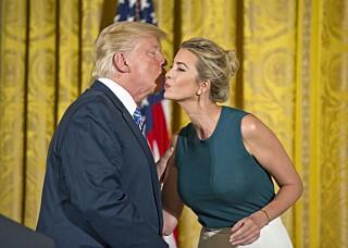 Image: Hevder Trump ønsket Ivanka som sin visepresident