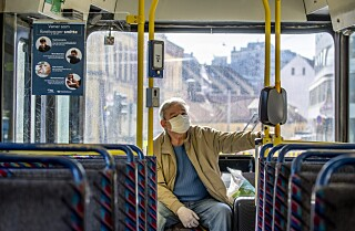 Image: Oslo-politiet: Følger ikke opp munnbind-påbud