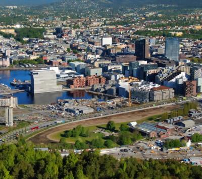 Image: Oslo-naboer strammer grepet
