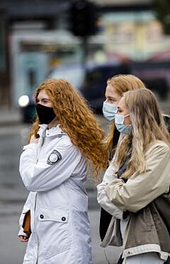 Image: Hundretusener får munnbindpåbud