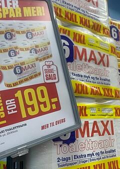 Image: Pristest: Mest dopapir for pengene