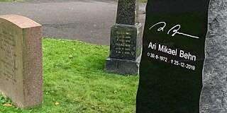 Image: Har fått sitt siste hvilested