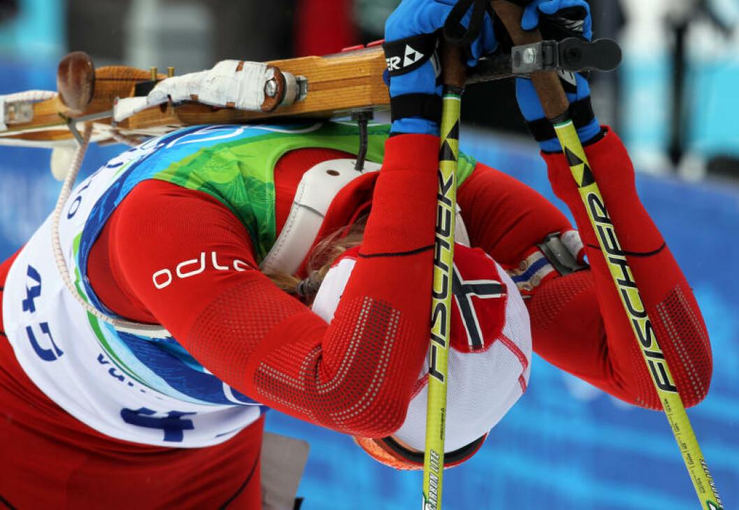 I MÅL: Tora Berger endte på en 33.  plass på en dårlig norsk dag i Vancouver OL 2010. Foto: Scanpix