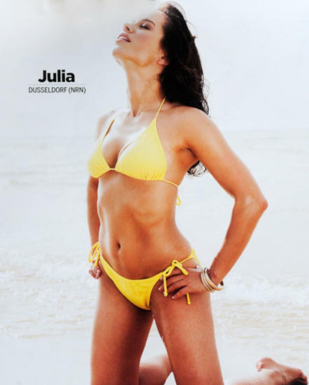 <strong>SEPTEMBER:</strong> Julia fra Düsseldorf i Tyskland. Foto: Stella Pictures