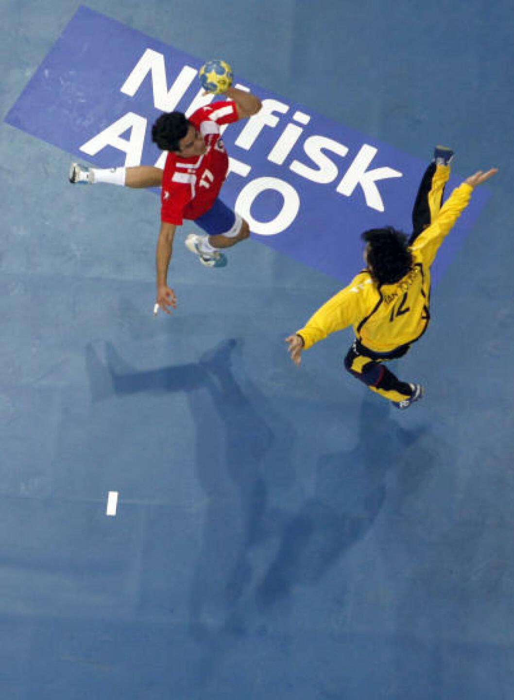 Chile mot Sør-Korea i Skandinavium i Göteborg. Foto: REUTERS/Umit Bektas