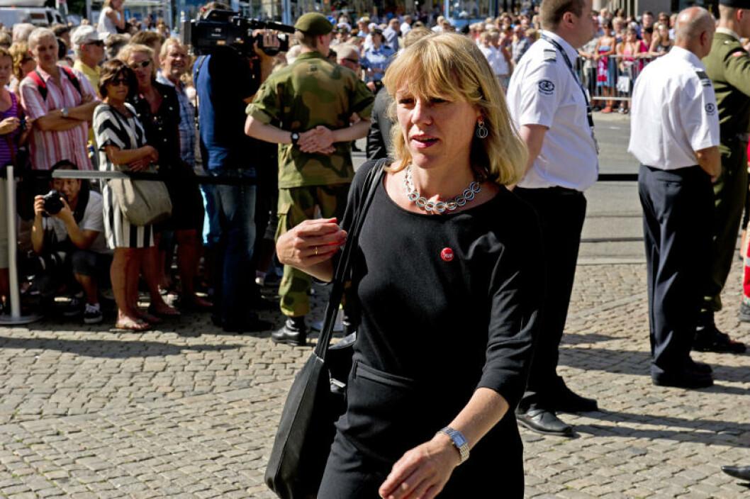 <strong>DELTOK:</strong> Prinsesse Märtha Louise deltok på minnemarkeringen. Det gjorde også hennes bror, kronprins Haakon. Foto: Øistein Norum Monsen / Dagbladet
