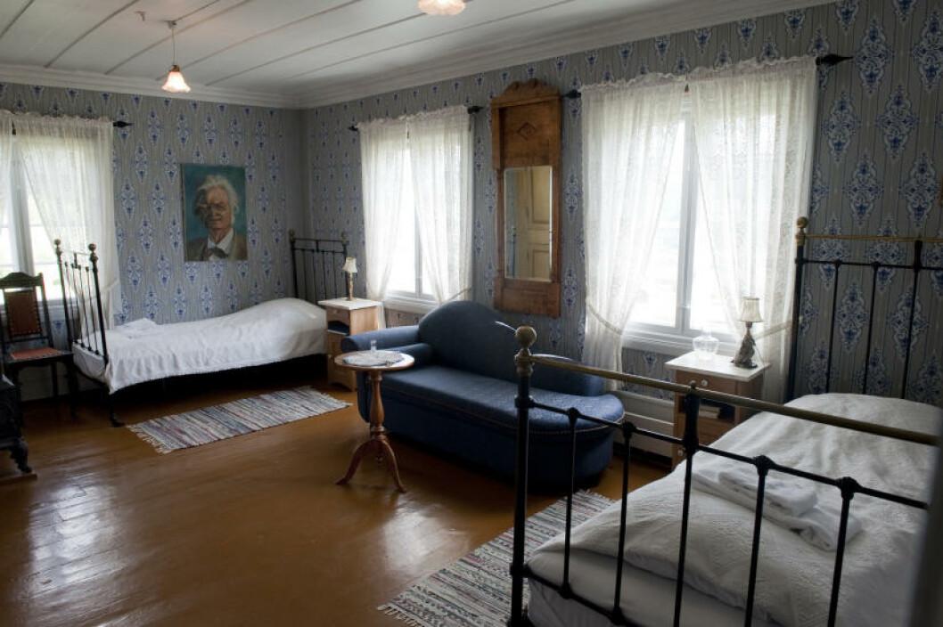 <strong>HOTELLET:</strong> Mens andre gjester sover i hovedbygningen fra 1850. Foto: John T. Pedersen/Dagbladet