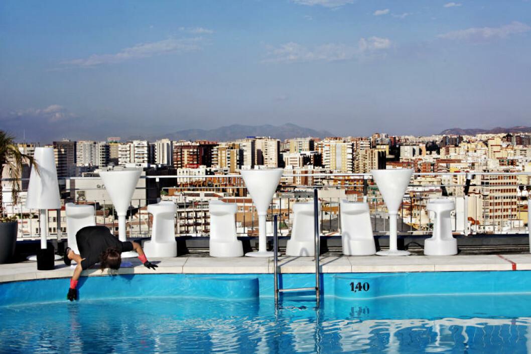 PUSSER OPP: Málaga var stedet du kjørte forbi. Nå synes resultatene av 15 års satsing på kultur og arkitektur. Foto: NINA HANSEN