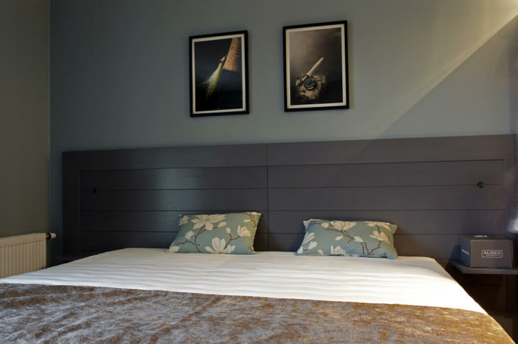 <strong>MODERNE:</strong> Slik sover du anno 2011 på Gloppen. Foto: OLE C. H. THOMASSEN