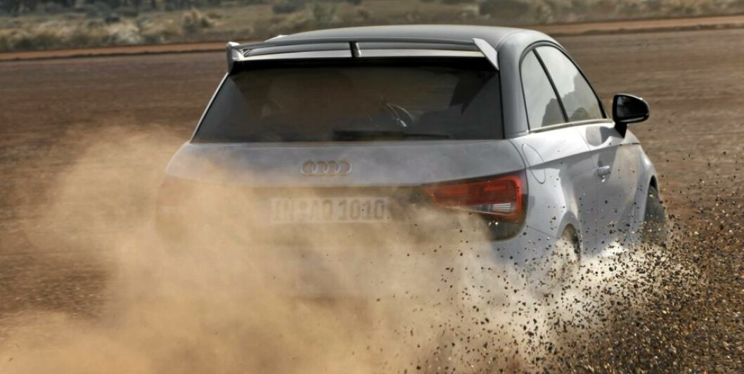 S: Her går det unna! Foto: Audi