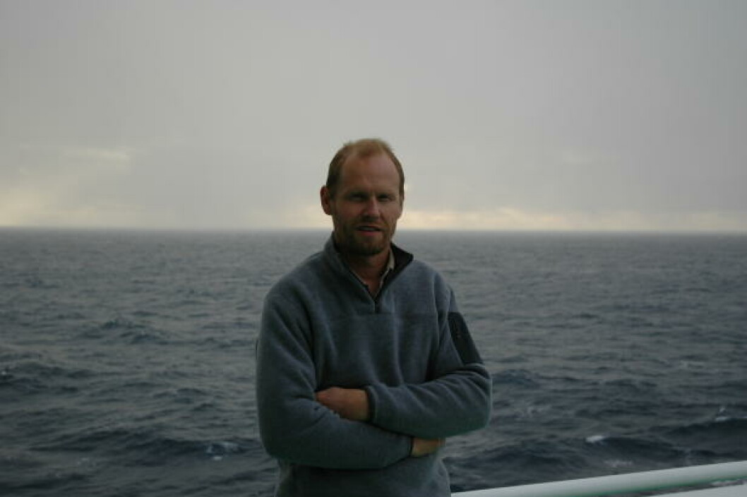 <strong>NORDMANN:</strong> Professor Rolf-Birger Pedersen på Senter for geobiologi ved Universitetet i Bergen deltok i arbeidet med å kartlegge feltene. Foto: Universitetet i Bergen