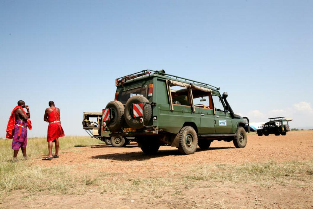<strong>SAFARI:</strong> Ordet «safari» betyr «reise» på swahili, og bilturene, gjerne i store, åpne jeeper, er hovedelementet i moderne safarier.