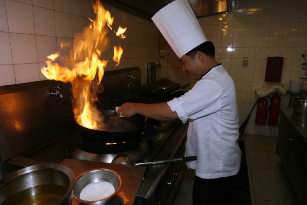 SUNT KJØKKEN: Vietnamesisk mat er utrolig velsmakende. Det vietnamesiske kjøkkenet er kåret til et av verdens sunneste, og det brukes bare ferske råvarer. Foto: TORMOD BRENNA