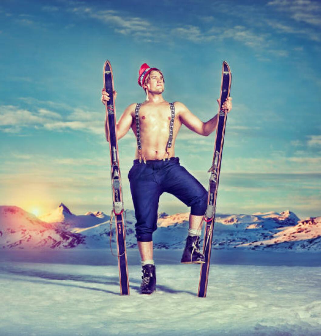 <strong>GLEMT JAKKE:</strong> Magnus Lajord (27) fra Vang i Valdres. Foto: Cahtrine Dokken.