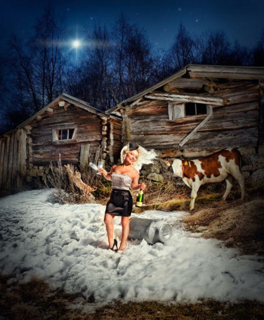 <strong>ALTERNATIV DYREOMSORG:</strong> Sandra Nygård Borch (24) fra Lavangen. Foto: Cahtrine Dokken.