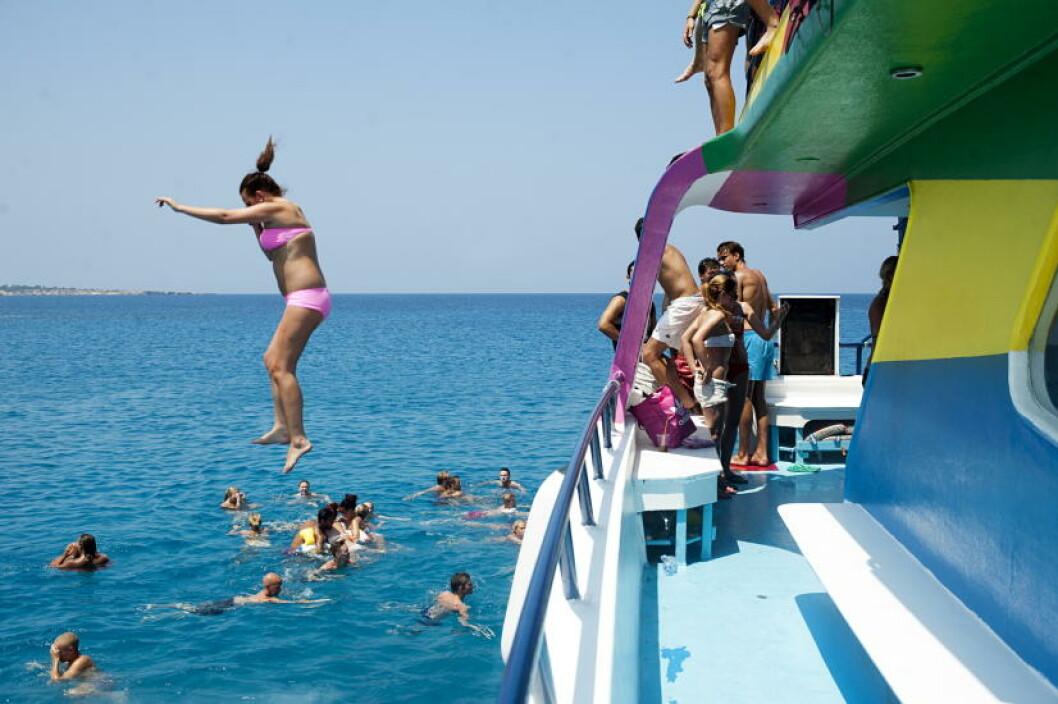 <strong>KYPROS:</strong>  Ungdom foretrekker Ayia Napa i sommerferien. Foto: BENJAMIN A. WARD