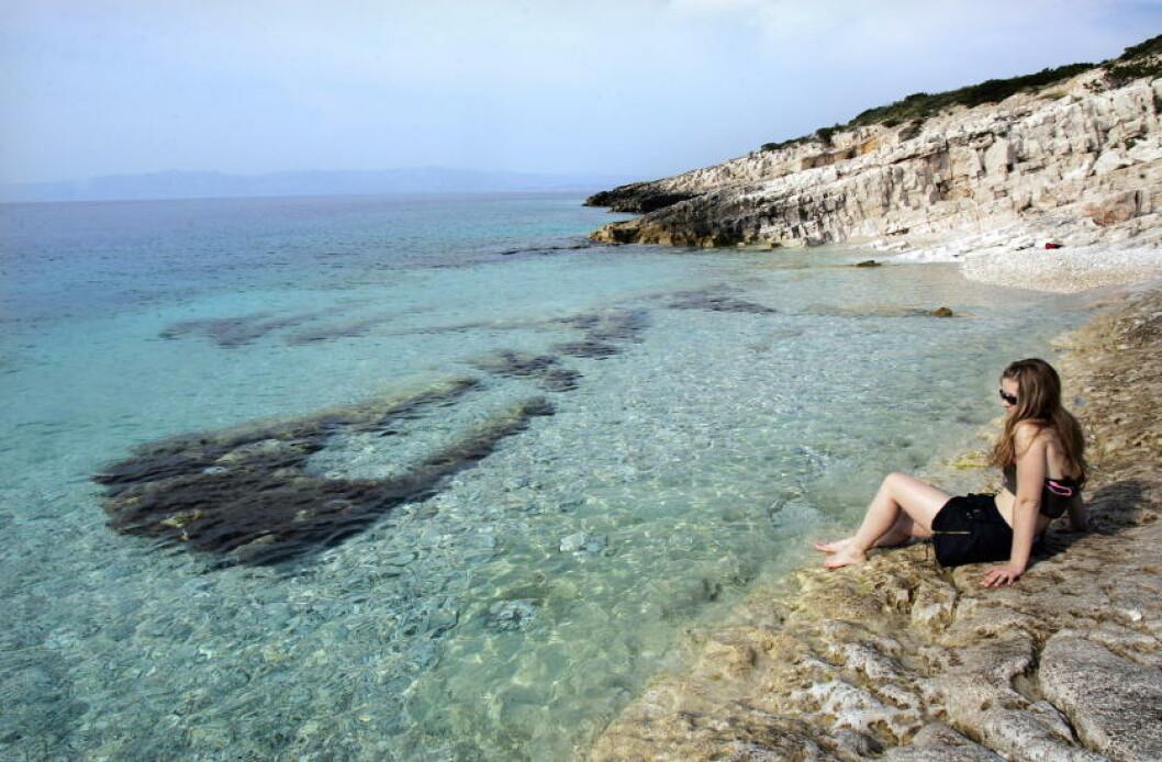 <strong> KROATIA:</strong>  Kjærlighetsøya utenfor Vela Luca utenfor øya Korcula. Foto: GEIR BØLSTAD