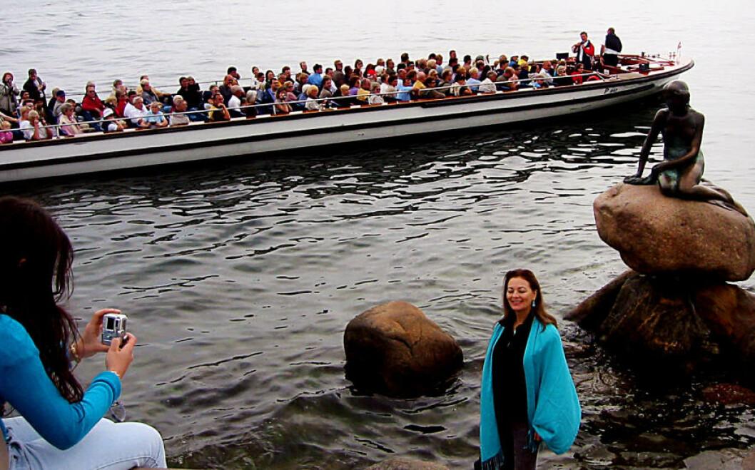 <strong> KØBENHAVN:</strong>  Den lille havfrue er på plass året runt.  KIRSTEN MARGRETHE BUZZI