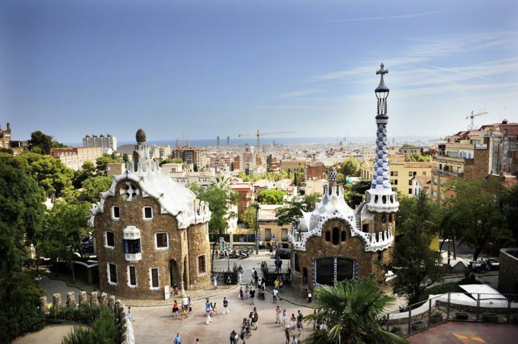 <strong> BARCELONA:</strong> Antoni Gaudís park Güell. Foto: THOMAS RASMUS SKAUG