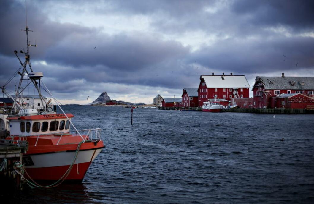 <strong>FISKETUR:</strong> - På vinterstid kan folk komme hit for å se på uvær og feske, sier Jens Thorsteinsen. Foto: ANITA ARNTZEN