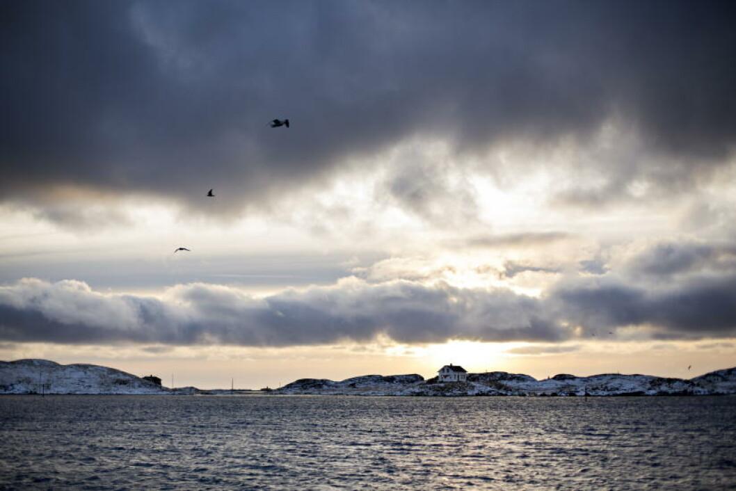 <strong>MYE HIMMEL:</strong> - Jeg pleier å si at vi er plassen i Norge med mest himmel. Den ligger som en kuppel over øya, og det er ingenting som sperrer for utsikten, sier ordfører Tor Arne Andreassen. Foto: ANITA ARNTZEN