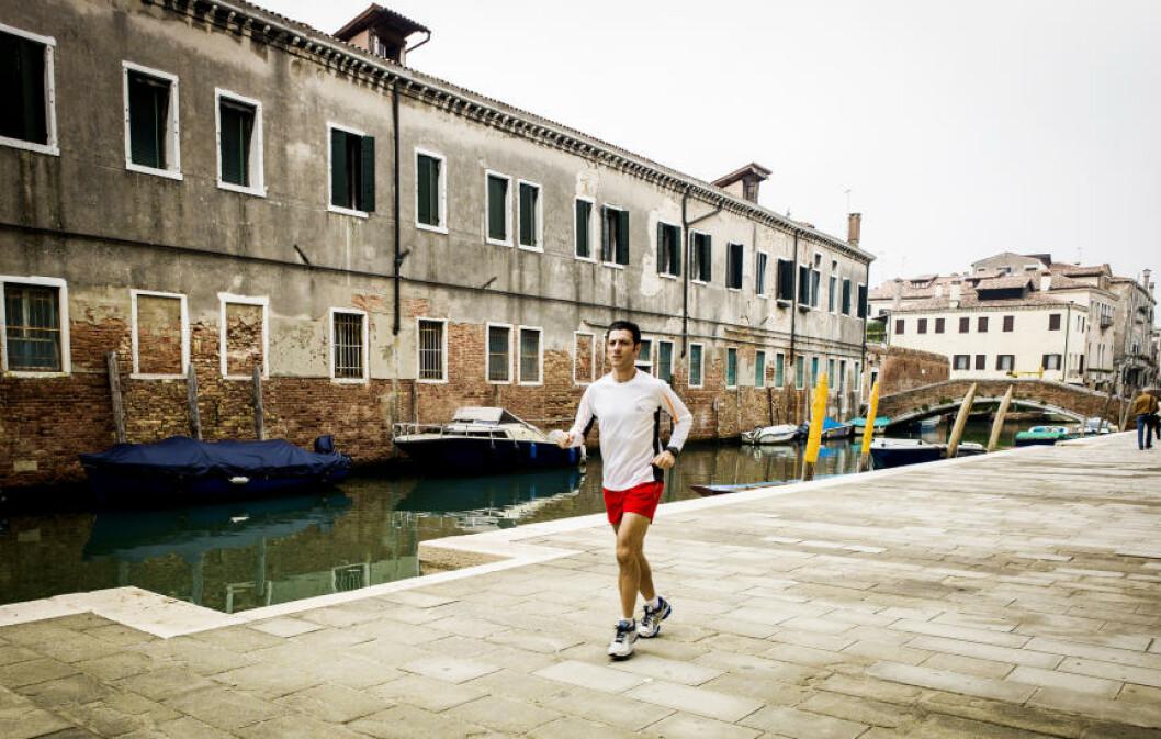 <strong>MARATON:</strong>  Lader opp til Venezia Marathon som går 27. oktober. Foto: JOHN TERJE PEDERSEN