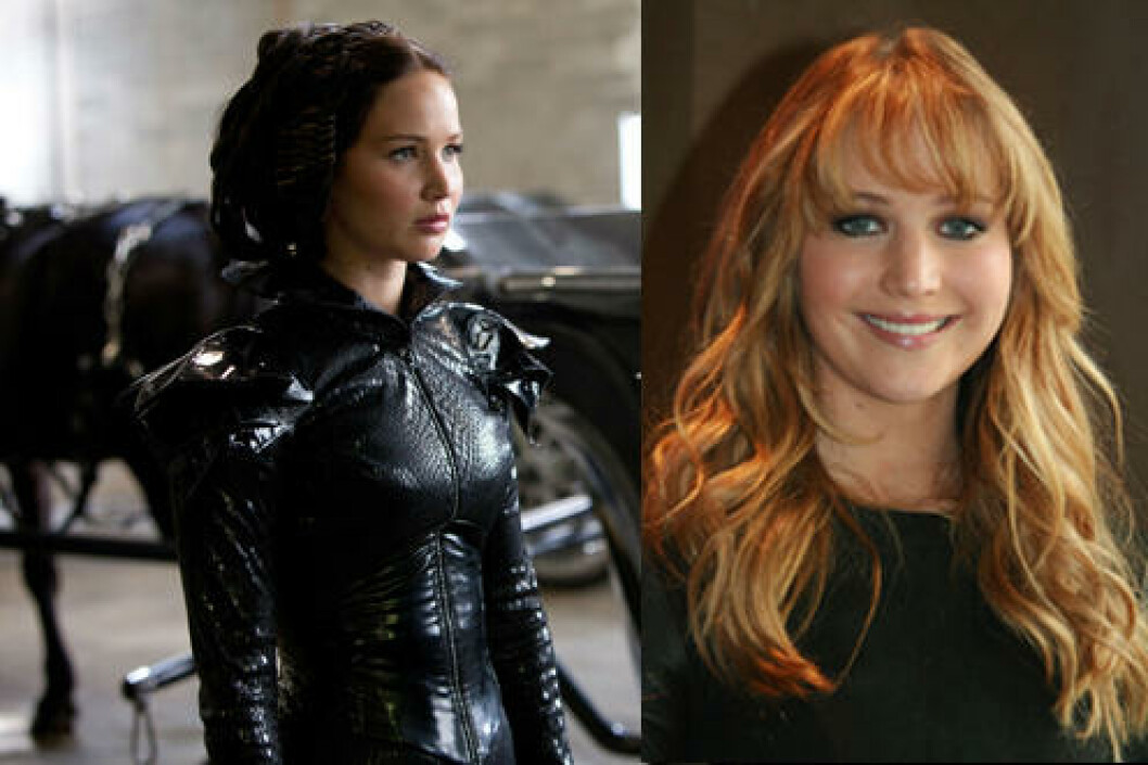 <strong>JENNIFER LAWRENCE:</strong> I «The hunger games»-filmene. Foto: Stella Pictures