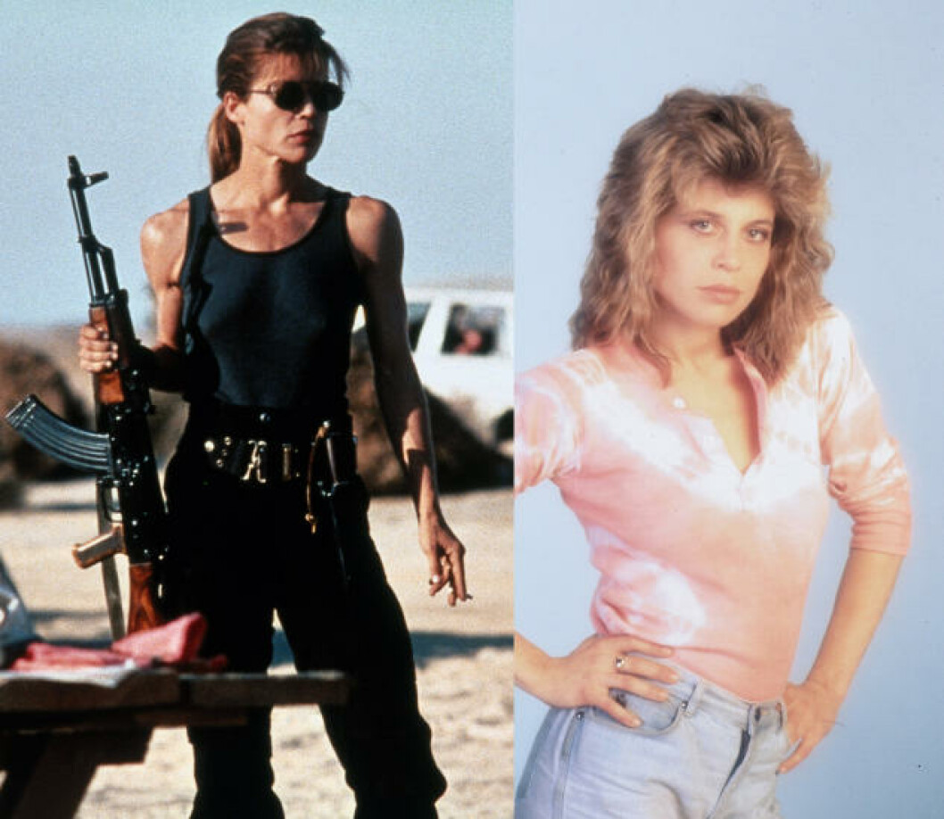 <strong>LINDA HAMILTON:</strong> I «Terminator 2: Judgment day». Foto: Stella Pictures