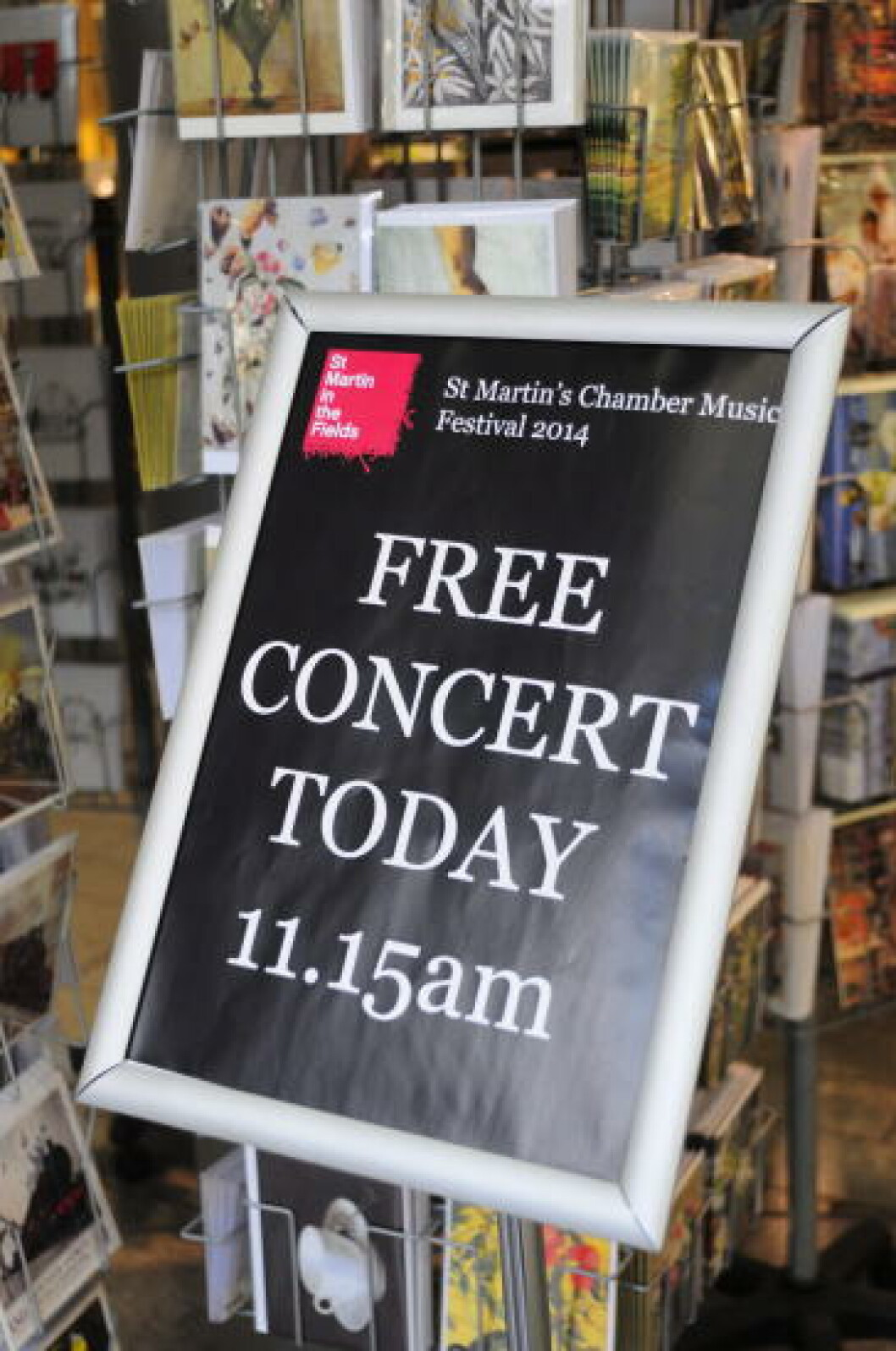 <strong>KLASSISK:</strong> Gå innom St. Martin in the Fields-kirken hvis du befinner deg i nærheten av Trafalgar Square. Her holdes det daglige gratiskonserter. Foto: MARIANNE WIE