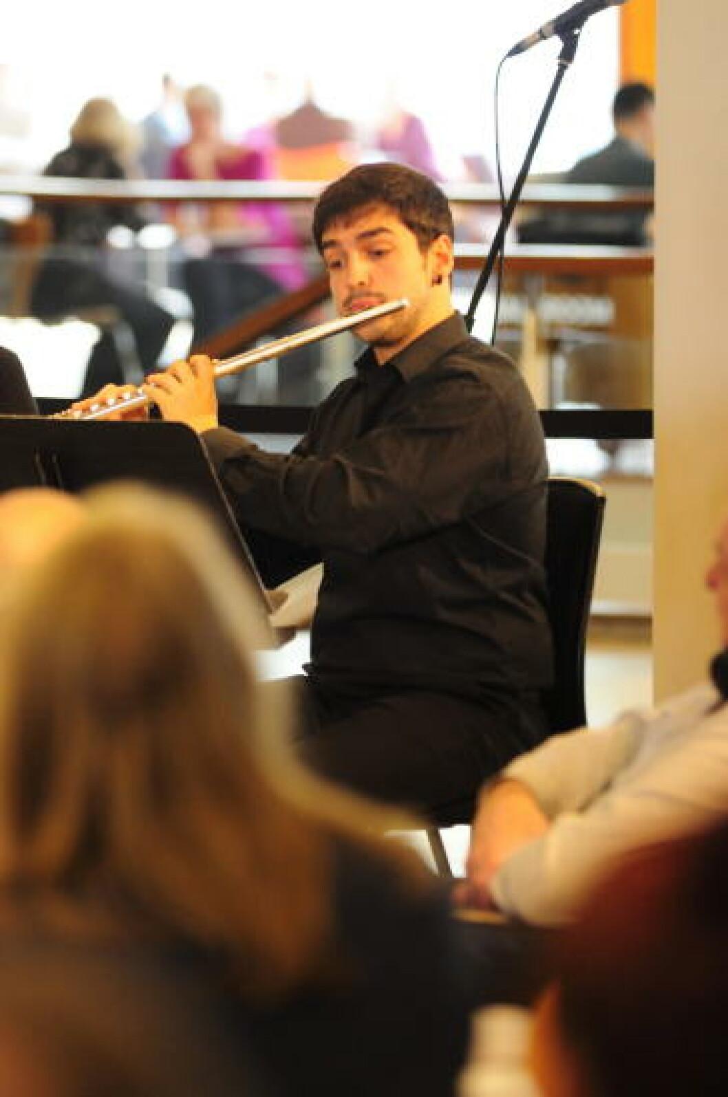 <strong>MUSIKALSKE:</strong> I Royal Festival Hall arrangeres det ukentlige konserter. Foto: MARIANNE WIE