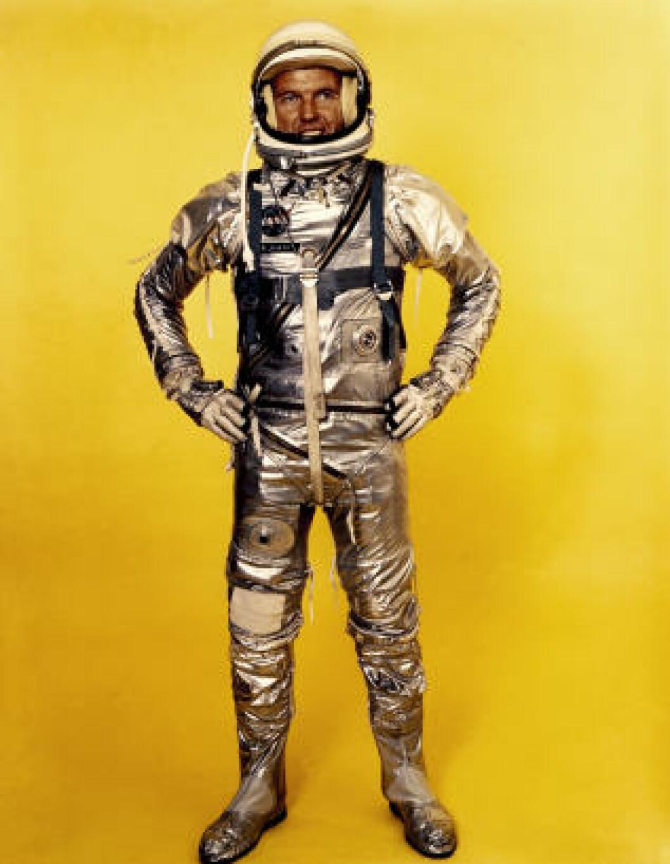 <strong>ORIGINAL:</strong> Gordon Cooper var en av sju astronauter valgt ut av NASA i 1959. Foto: NASA