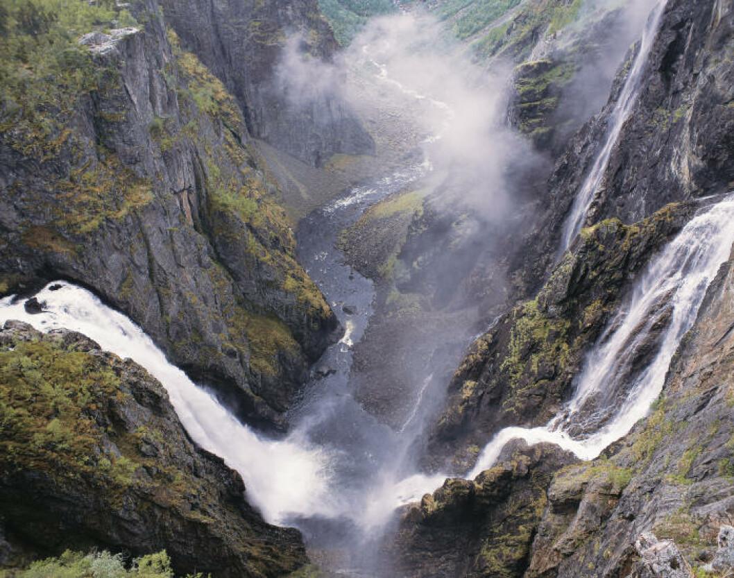 1. VØRINGSFOSSEN.  Foto: JOHAN BERGE / VISIT NORWAY