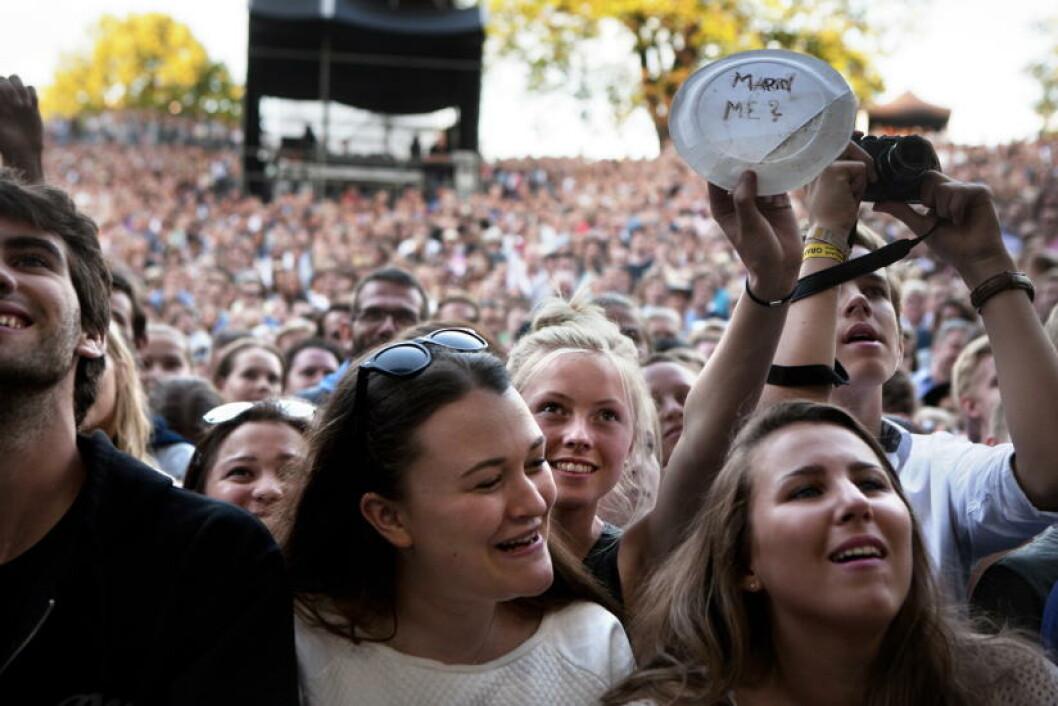 MARRY ME: John Mayer har fan i alle aldre. Er det låta «Marry Me» hun ønsker eller hans hjerte...?