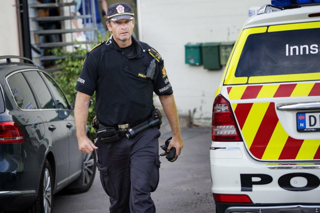 <strong>INNSATSLEDER:</strong> Tore Barstad.