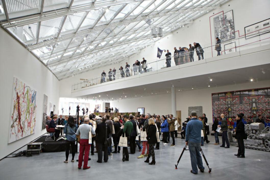 <strong>ASTRUP FEARNLEY MUSEET:</strong>  Byens nye attraksjon på Tjuvholmen med samtidskunst og utendørs skulpturpark. Foto: LARS EIVIND BONES